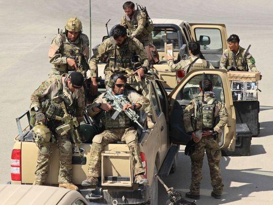 Jegada di fuerza especial Afghano,pa recaptura e cuidad Kunduz for di Taliban. Sept 29 2015